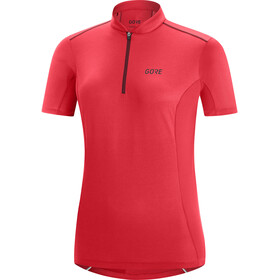 GORE WEAR C3 Maillot Cremallera Mujer, hibiscus pink